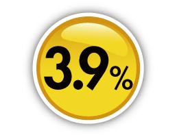 ミニログハウスの特長 その13 無担保BBローン。おどろきの3.9%