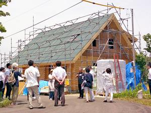 新モデルハウスを建築中