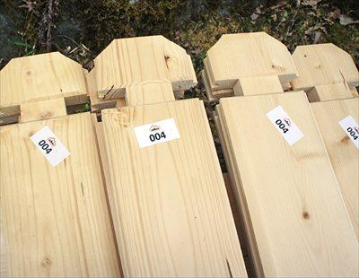 ログハウスの木材の形状とその特徴について