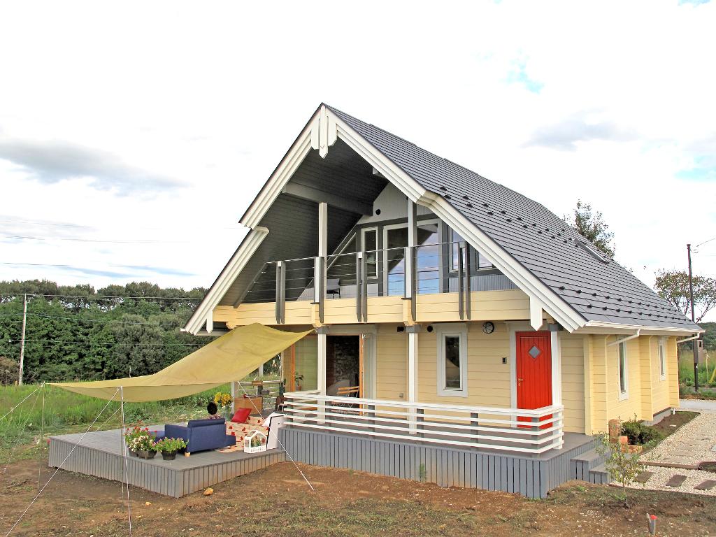 ログハウス,建売住宅