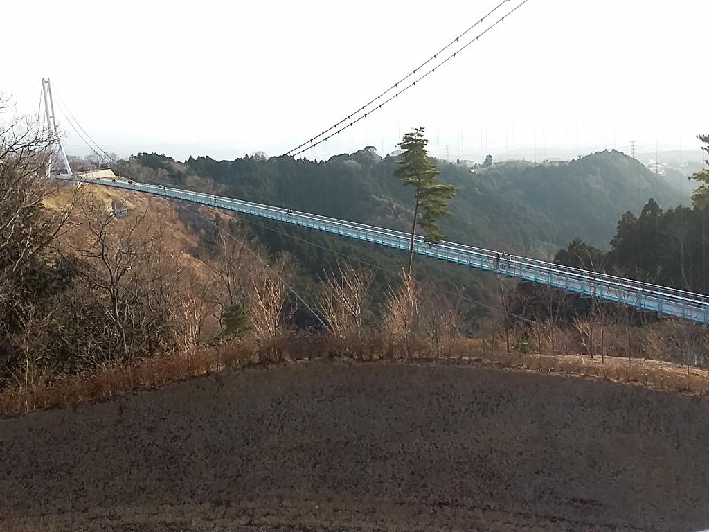 三島スカイウオーク,吊り橋,ログハウスカフェ