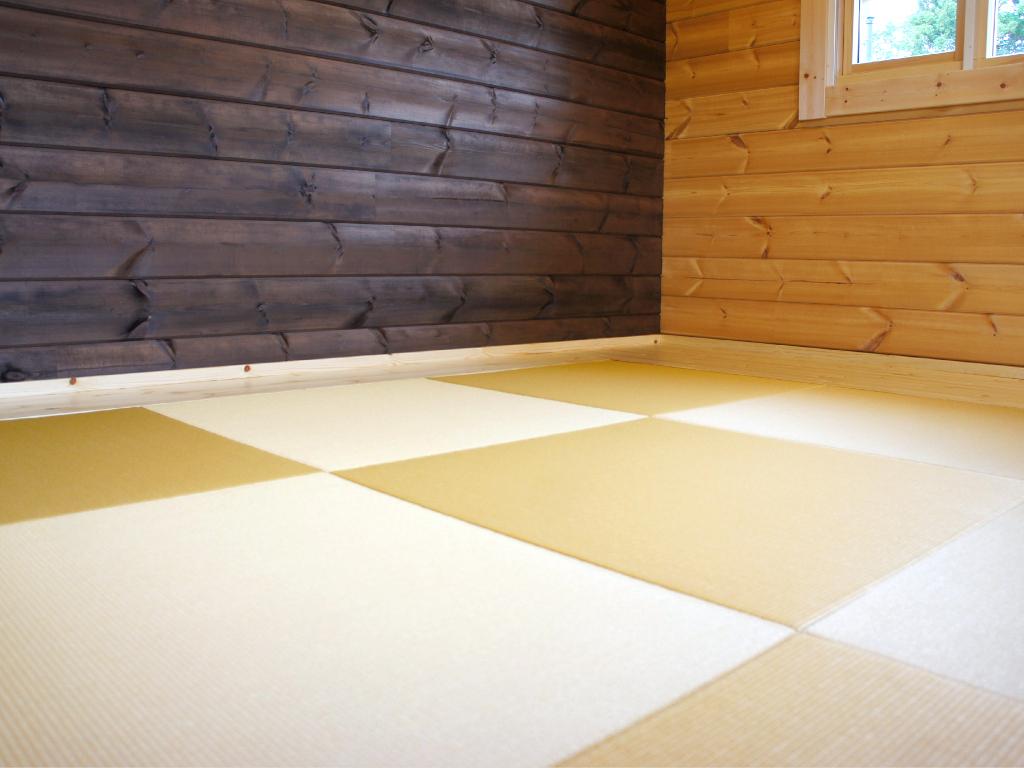 ログハウス,和室,畳