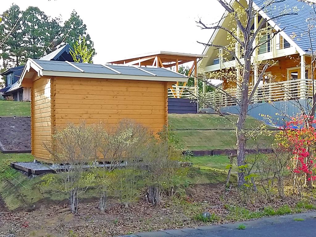 ログハウス,小屋,物置