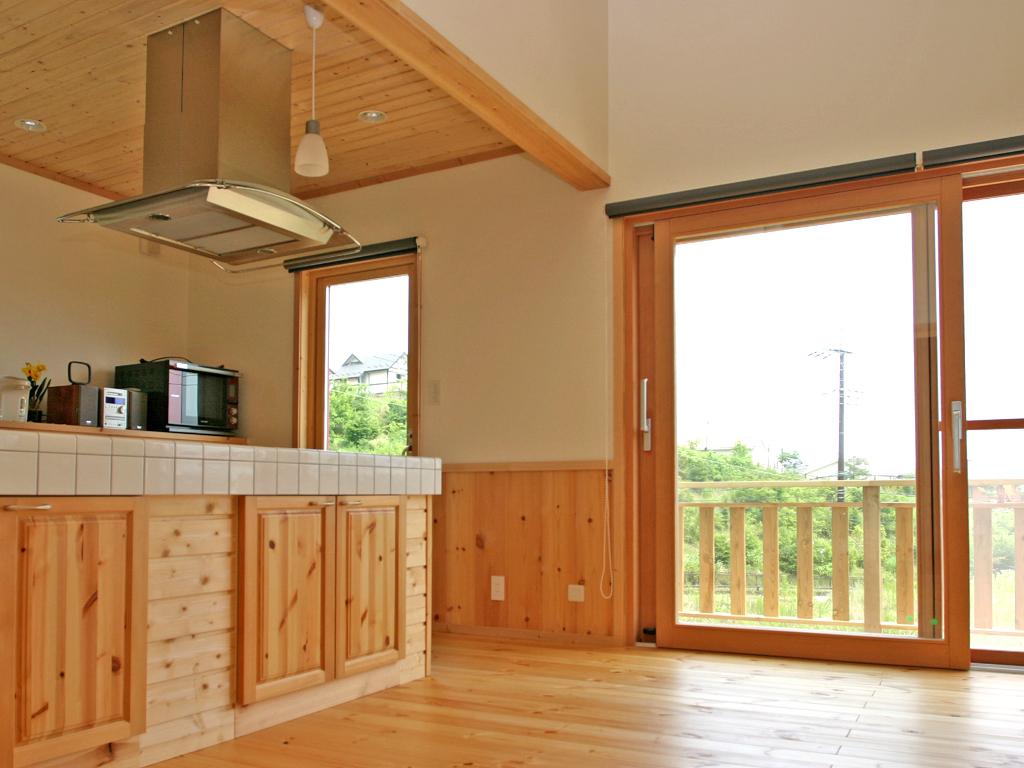 北欧,木質住宅,軸組