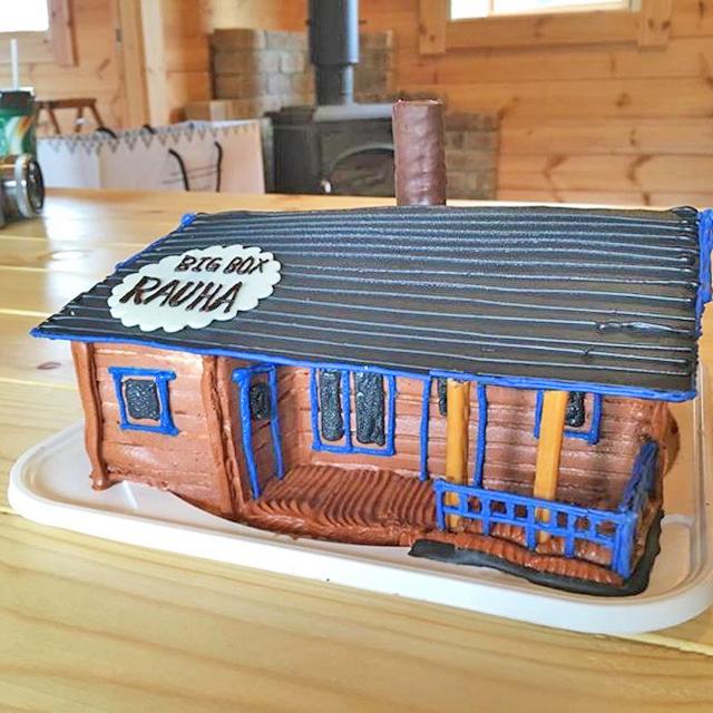 ログハウス,ラウハ,rauha,ケーキ