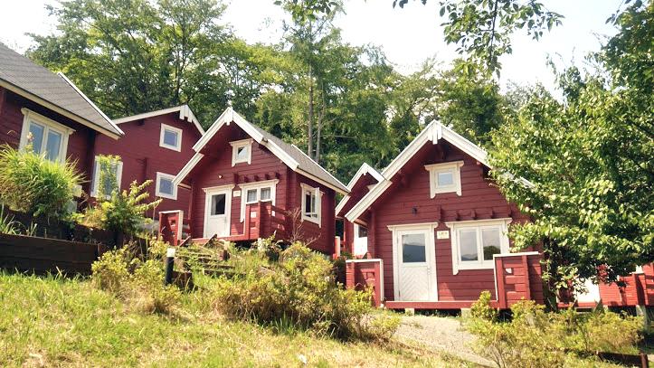 ログハウス,キャンプ,グランピング