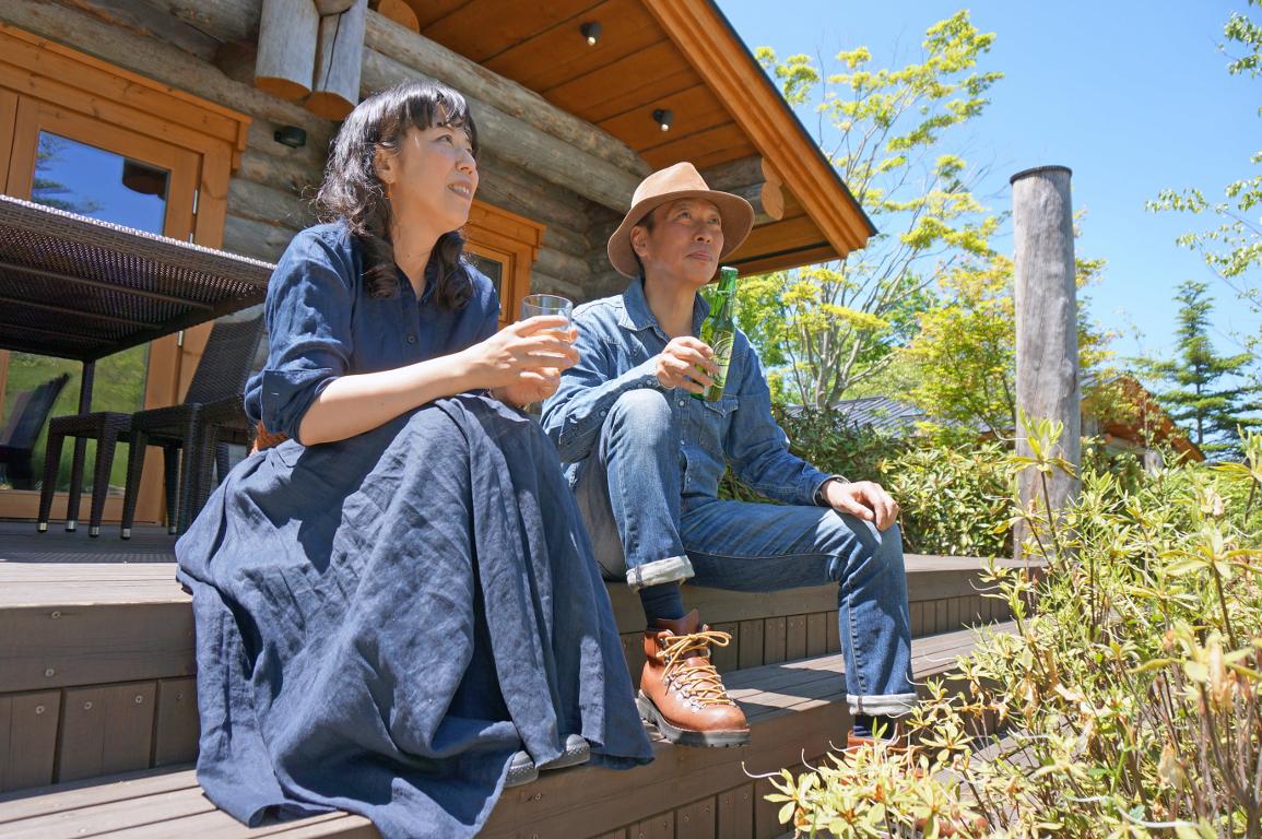 軽井沢のリゾートログハウス 幻のシルバーパイン