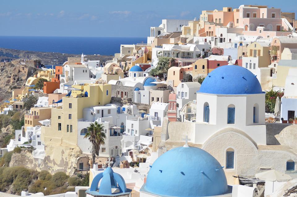 ギリシャ,サントリーニ島