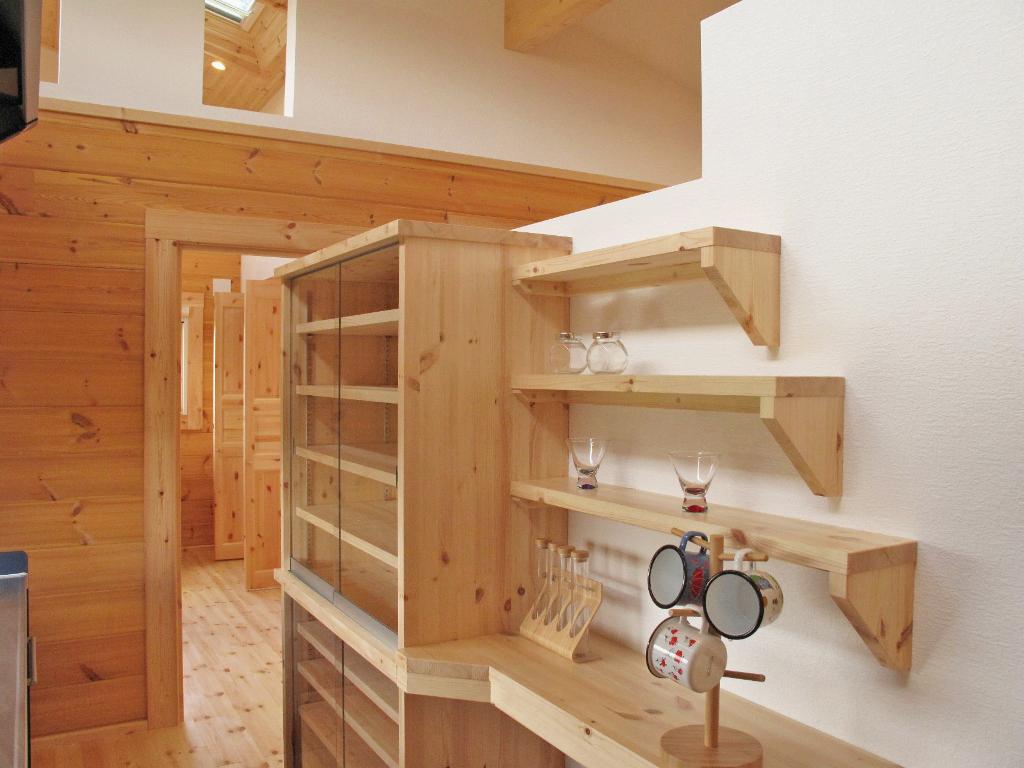 木の造り付家具はbbオリジナル