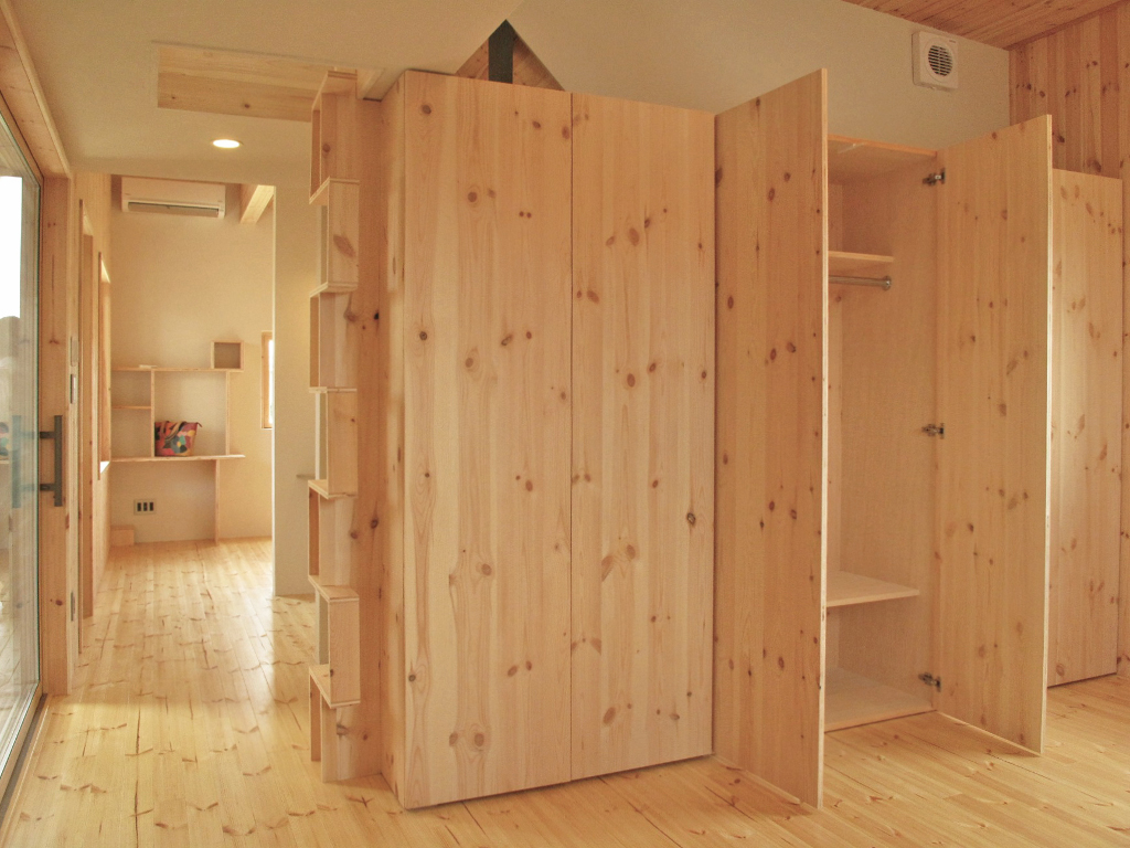 ログハウス,オリジナル家具