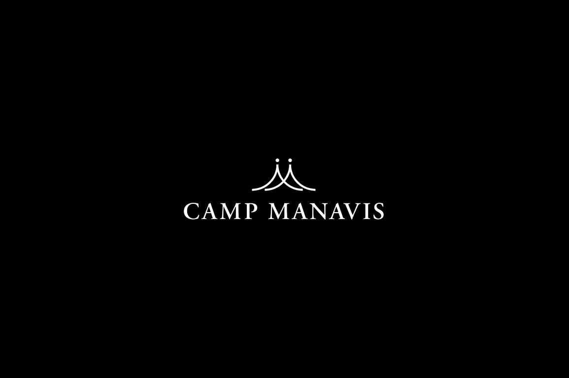 森と海を楽しめるログハウス、キャンプマナビス
