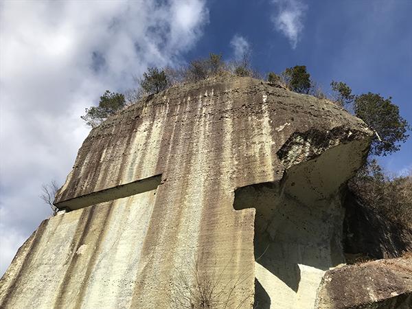 日本遺産の大谷石