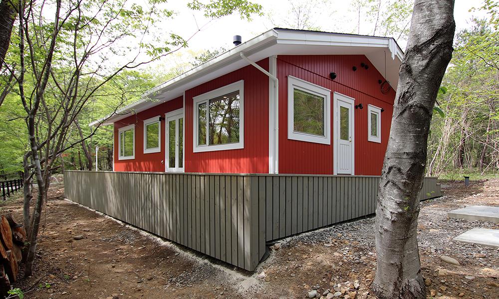 フィンランドハウス那須高原での別荘スタイル
