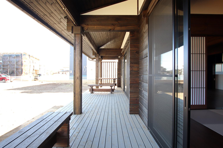 古民家ログハウス 熊野 屋内8(濡れ縁)