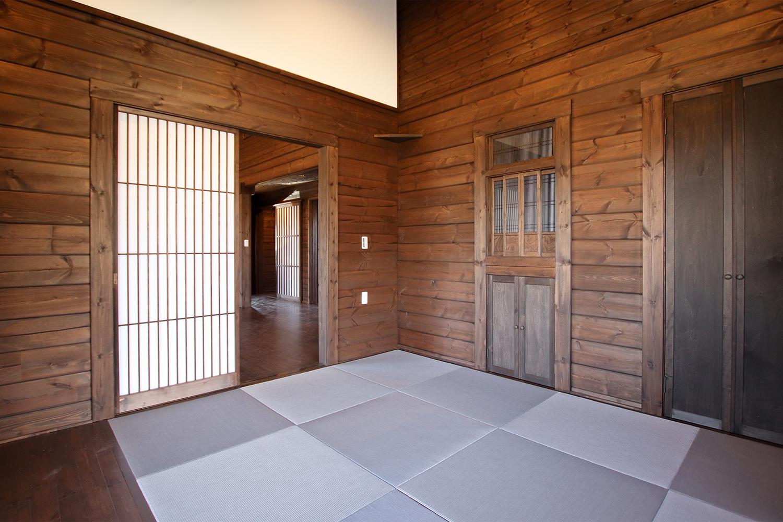 古民家ログハウス 熊野 屋内4(一階和室)